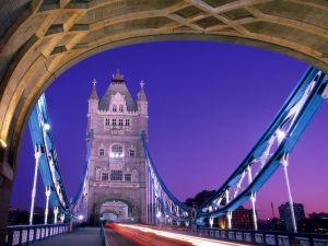 Walk nightly  by the Tower Bridge, London
