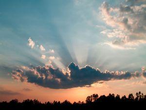 The great cloud hidden the sun