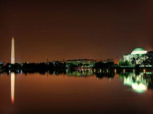 Night in Washington D.C.