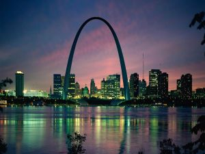 Night in St. Louis (Missouri)