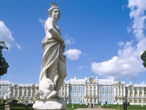Statue at Catherine Palace, St. Petersburg