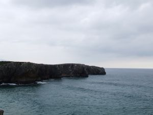 Cliffs on the Asturian coast