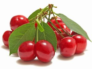 Some rich cherries