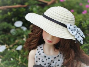 Barbie with hat