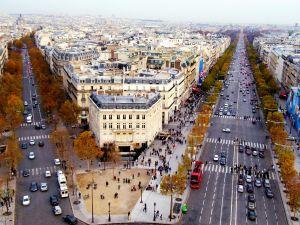 A modern city