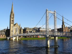 The River Ness in Inverness
