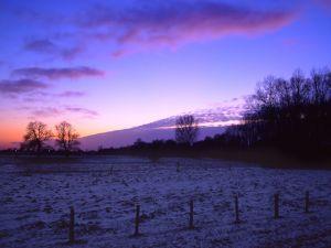 Dawns a winter day