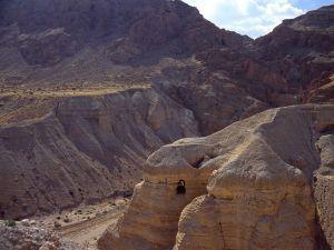 Caves near Qumran, Israel