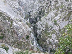 The Cares river (Asturias - Leon)