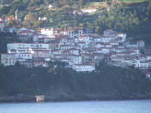 The village of Lastres, Asturias