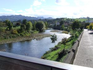 Sella river in Arriondas (Asturias)