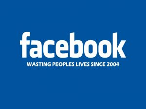 Facebook, wasting people's lives since 2004