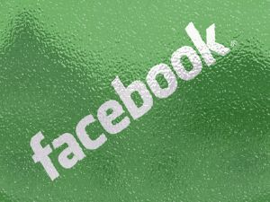 Facebook in green