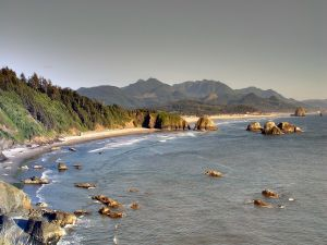 Beach at Cannon Beach, Oregon