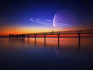 Bridge on a new planet