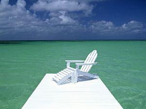 Chair near the sea