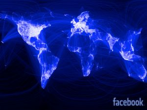 Facebook, connecting the world