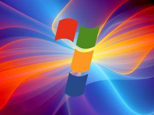 Windows 7 between ray of lights