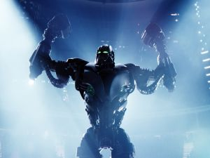 "Zeus in ""Real Steel"""