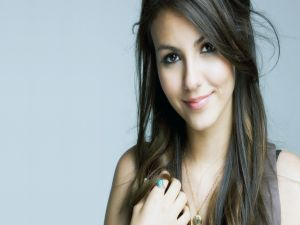 The actress Victoria Justice