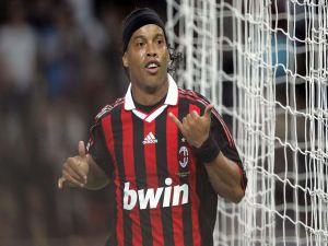 Ronaldinho in the A. C. Milan