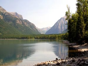 Tranquility at lake