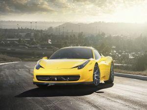 Bright Ferrari 458