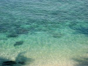 Bright seawater