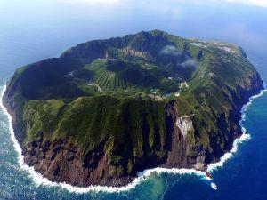 Unbelievable inhabited island amid the sea