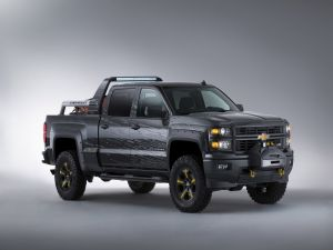 Chevrolet Silverado 2013 in black color