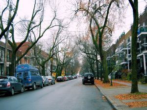Street of Montreal, Canada