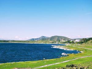 Lake San José Alchichica, Tepeyahualco, Puebla, México