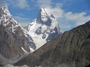 Muztagh Tower (Baltoro Glacier Area, Central Karakoram, Pakistan)