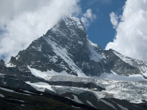 The north face of the Matterhorn