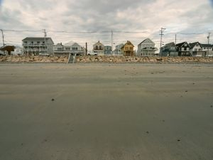Houses in the beach