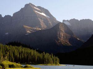 Sunlight over mountain
