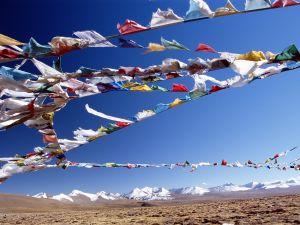 Colours in Tibet