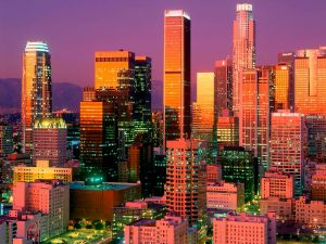 Downtown Los Angeles, California