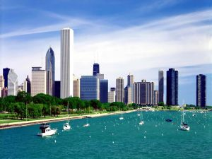 Lake Michigan in Chicago