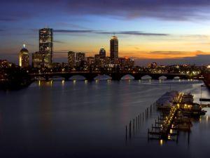 Nightfall in the city
