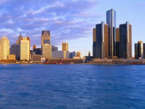 The city of Detroit, Michigan