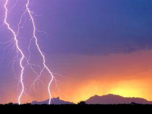Lightnings in Arizona