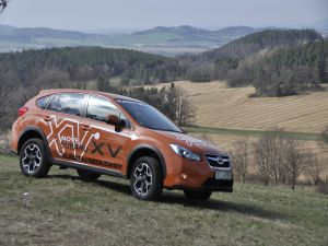 Subaru XV in the field