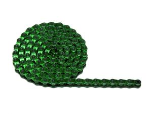 Bicycle chain green color