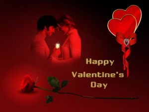 "Bright ""Happy Valentine's Day"""