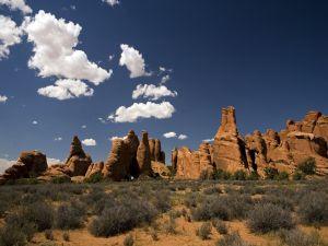 Rocks in the landscape