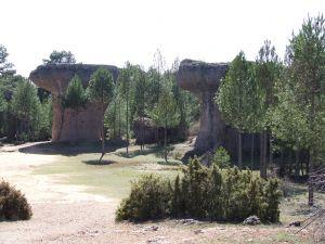 """Rock formations """"Ciudad Encantada"""" (Cuenca, Spain)"""