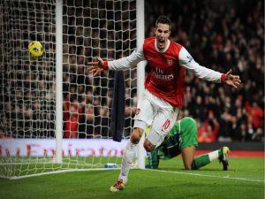 Goal of Robin van Persie