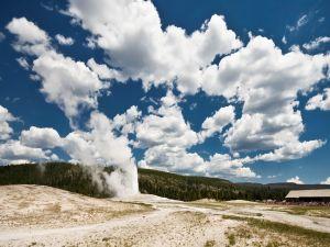 Smoke in Yellowstone