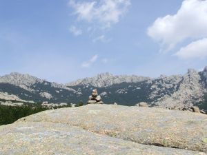 Stones in La Pedriza